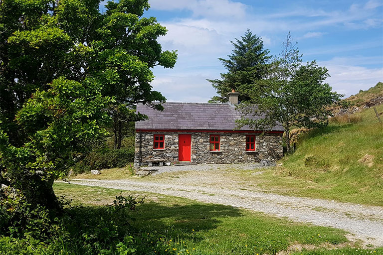 Old Shepherd's Cottage, Clifden, Connemara